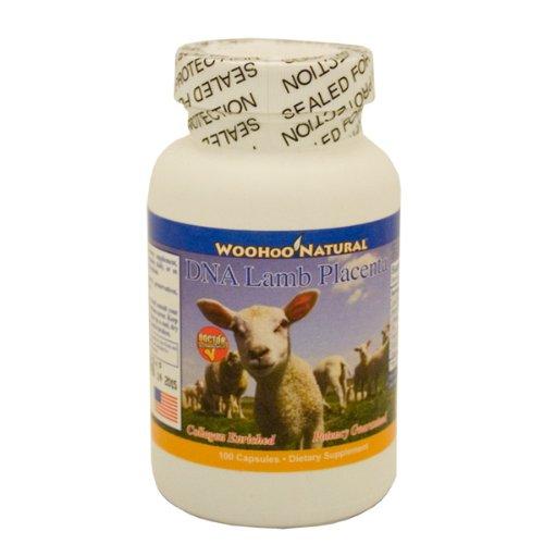 Woohoo Natural Dna Lamb Placenta 100 Capsules