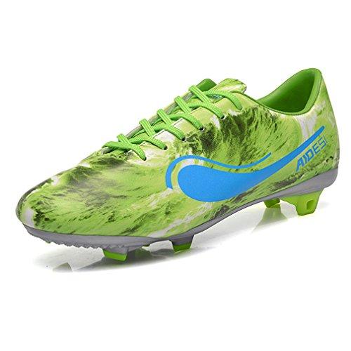 sikaiqi-100-pelle-scarpe-di-calcio-allenamento-uomo-verde-43-eu