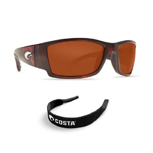 Costa Del Mar Corbina Tort 580G Copper Glass Lens - With Free Retainer<br />