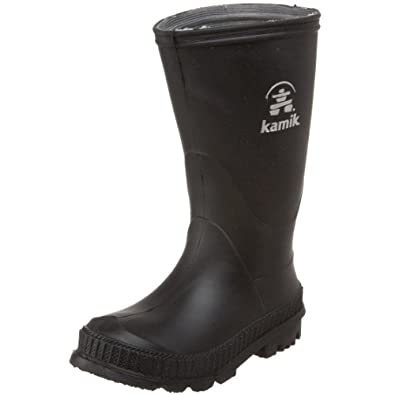 Kamik Stomp Rain Boot (Youth/Little Kid/Big Kid),Black,8 M US Youth (Toddler)