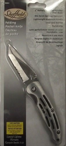 "Sheffield 18067 3"" Blade Folding Pocket Knife"