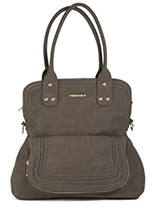 timi & leslie Hayley Diaper Bag, Mushroom Brown