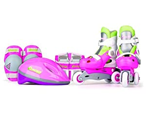 NSG New Skate Training Combo - Pink Green by NSG