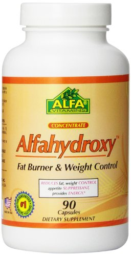 Alfa Vitamins Alfahydroxy Nutrition Supplement, 90 Count