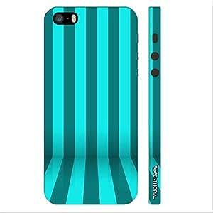 Enthopia Designer Hardshell Case STRIPE FLOW Back Cover for Apple Iphone 5,5s,SE