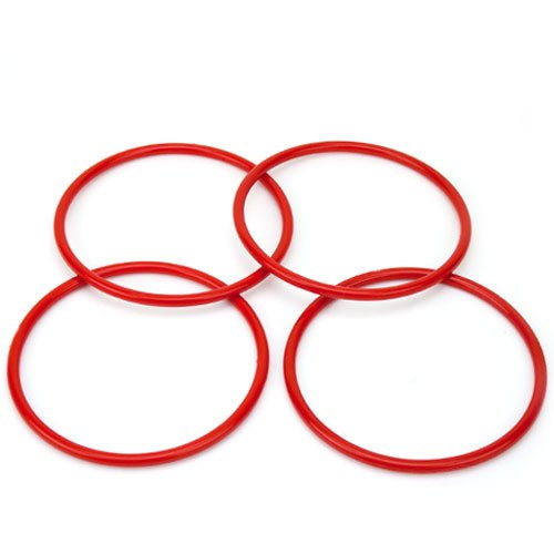 "4 Pack Large Ring Toss Rings with 5"" in Diameter by Midway Monsters - 1"