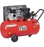 Fini MK Advanced 102-90-2M Air Compressor 90 Lt 2 HP SINGLE-STAGE SINGLE-PHASE ON WHEELS