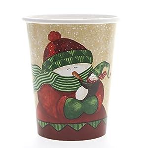 Paper Winter Friends Cups