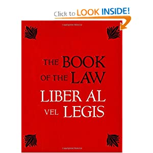 Amazon.com: The Book of the Law: Liber Al Vel Legis (0824297633082 ...