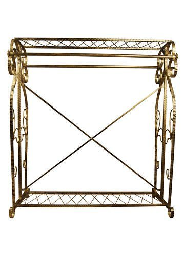 Brand New Free Standing Decorative Antique Bronze Iron Garment Coat Rack (Y009D) 0