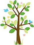 RoomMates RMK1319GM Dotted Tree Peel & Stick Giant Wall Decal Picture