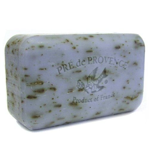 Pre de Provence Lavender Soap, 250g wrapped bar. Imported from France. With shea butter and natural herbs and scents.