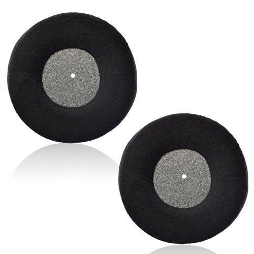 cosmos 1 pair black color velvet replacement earpad ear