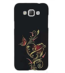 Fuson Premium Back Case Cover Animated Heart With Multi Background Degined For Samsung Galaxy Grand 3 G720::Samsung Galaxy Grand Max G720