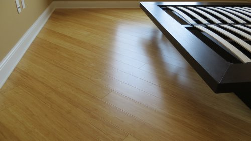 Strand Woven Bamboo Natural Solid Plank Flooring with Valinge G5 Lock