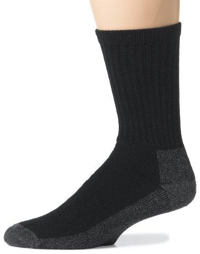 Wigwam Men's At Work 3-Pack Socks, Black, Large