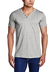 Chromozome Men's Cotton Vests (OS-2 Grey1 L)