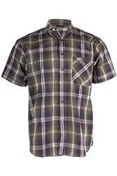 G Zap Men's Plaid Short Sleeve Shirts