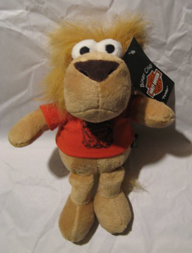 Harley Davidson Biker Club Fender 10in Plush Doll - 1