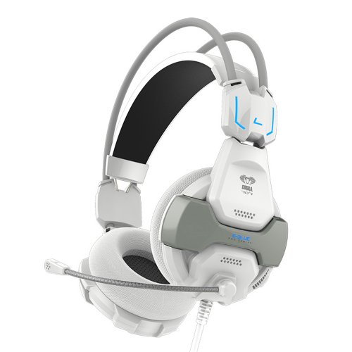 E-3Lue Original Professional Stereo Gaming Headsets Series (Cobra Hs707 White)