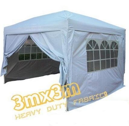 Quictent New Silver 10'x10' Ez Pop up Gazebo