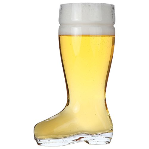 Lily's Home Das Boot Beer Glass. Beer Boot Stein (1 Liter)
