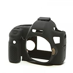 Easy Cover Compatible With Canon 6D Black Camera Case
