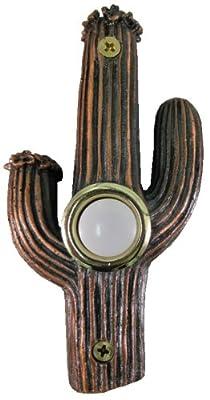 Company's Coming DBZ-011 Cactus Bronze Doorbell Cover