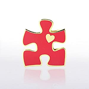 Lapel Pin - Essential Piece with Heart
