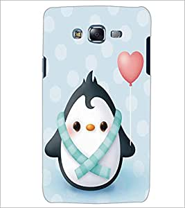 SAMSUNG GALAXY J5 CARTOON WITH HEART Designer Back Cover Case By PRINTSWAG