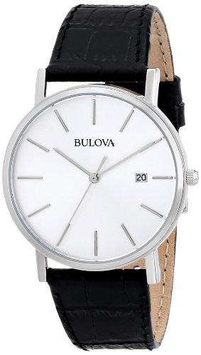 Bulova Men's 96B104 Silver Dial Dress Watch