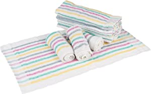 Phoenix Terry Towel, 12-Pack, 15 by 25, Multi-Color