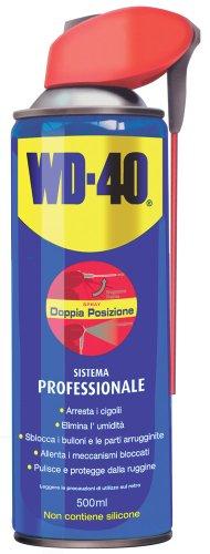 WD40 12210 Lubrificante, Anticorrosivo e Sbloccante, Trasparente, 500 ml