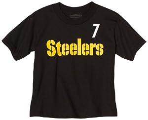 NFL Infant/Toddler Boys' Pittsburgh Steelers Ben Roethlisberger Name & Number Tee Shirt