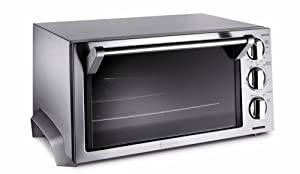 Amazon Com Delonghi Eo1260 Stainless Steel Toaster Oven