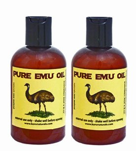 Emu Oil Premium Golden - Set of Two - 4 fl.oz.