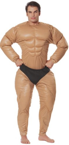 Adult Men's Body Builder Halloween Costume