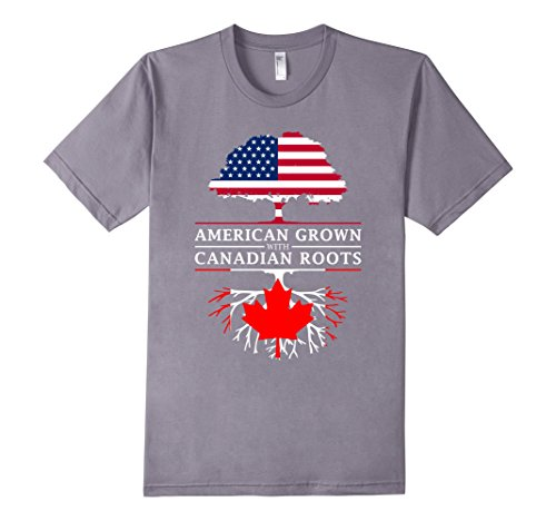 mens-american-grown-with-canadian-roots-t-shirt-canada-shirt-2xl-slate