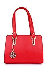 CLASSIC FASHIONS RED HANDBAGS 121