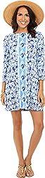 Lilly Pulitzer Women's 24176 : Ophelia Dress, Bomber Blue, XXS