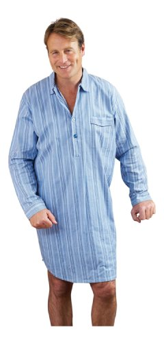 Champion 100% Brushed Cotton Quality Mens Nightshirts - Small to 3XL
