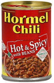 Hormel, Chili with Beans, Hot & Spicy, 15oz Can (Pack of 6) by Hormel