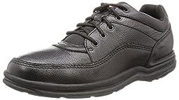 Rockport Men\'s World Tour Classic Walking Shoe,Black,10.5 M US