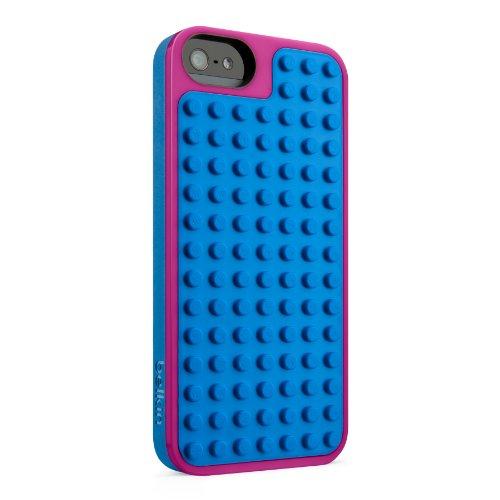 Lego Bastelschutzhülle  geeignet für Apple iPhone 5  pink blau