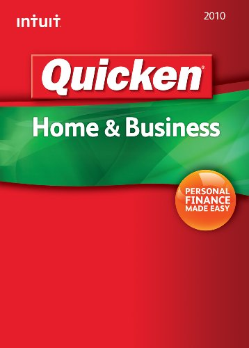 Great deals intuit quicken 2010 home and business