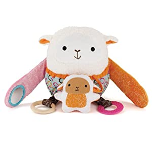 Skip Hop Hug and Hide Activity Toy, Lamb