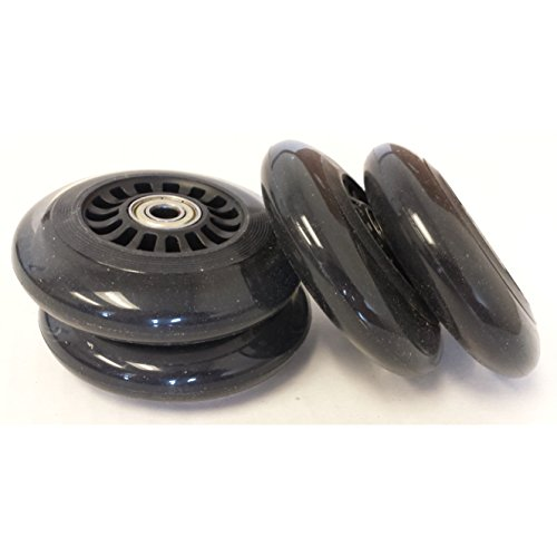 Sale!! Plasma Car Polyurethane Replacement Wheels - Black