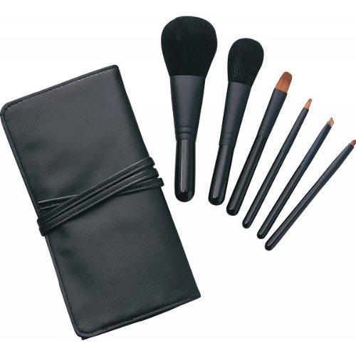 熊野化粧筆セット 筆の心 ブラシ専用ケース付き メイク雑貨