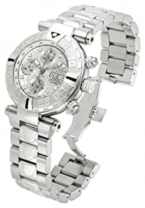 Invicta Men's 10488 Subaqua Automatic Chronograph Rhodium Dial Watch