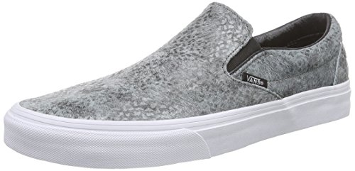 Vans U Classic Slip-On Pebble Snake, Sneakers, Unisex, Grigio (Pebble Snake) gray/black), 38